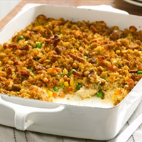 Chicken, Veggies and Stuffing - Healthy