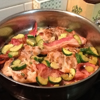 Chicken, Zucchini and Prosciutto