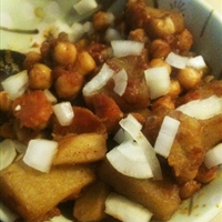 chickpea and potato recipe