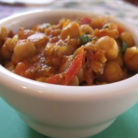 Chickpea Curry (Vegan)