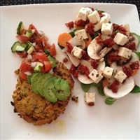 Chickpea, Lentil and Sweet Potato Patties
