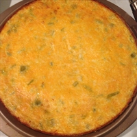 Chile Rellenos Crustless Quiche