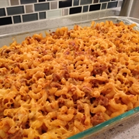 Chili Cheeseburger Mac N Cheese
