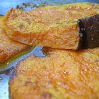 Chilli-roasted Pumpkin