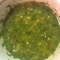 Chimichurri (Argentine Spiced Parsley Sauce)