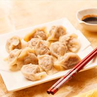 Chinese Pork Dumplings - Jiao Zi