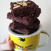 Choco Nutella brownies