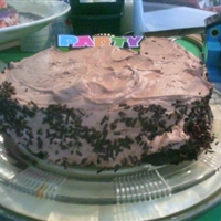 Chocolate Cake with Mocha Frosting