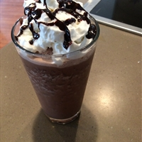 Chocolate chip frappe