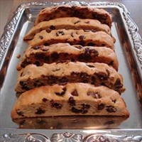 Chocolate Chunk Mandel Bread