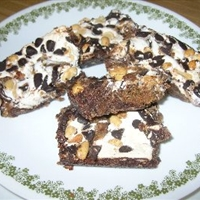 Chocolate-peanut Butter Mallow Bars