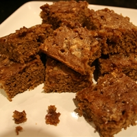 Chocolate Toffee Brownies