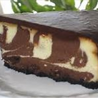 Chocolate Zebra Cheesecake