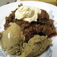 Chopped Walnut and Coffee Cake