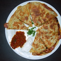 Chorizo and Jalapeno Quesadillas