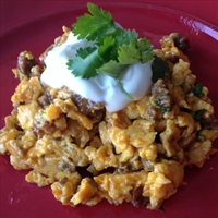 Chorizo Scrambled Eggs