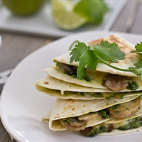 Cilantro Quesadillas