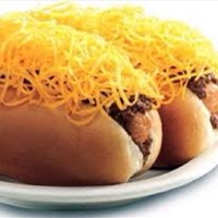 Cincinnati Chili and Cheese Coneys