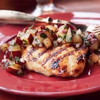 Cindy's Glazed Chicken Breast w/ Plum Chutney