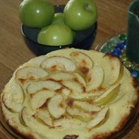 Cinnamon - Apple Flan