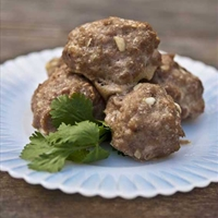 Clean Eating Garlic Parmesan Turkey Meatballs