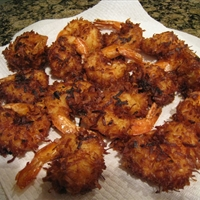 Coconut Battered Shrimp
