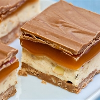 Coconut Caramel Candy Bars