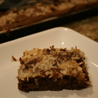 Coconut-cluster Brownies