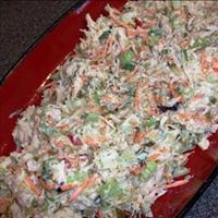 Cold Chicken Salad with Vegetables