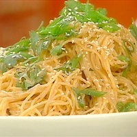 Cold Sesame Noodle Salad