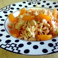 Coleslaw with an Oriental touch