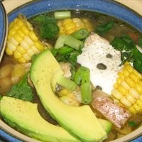 Colombian Chicken Soup (Ajiaco)