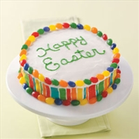Colorful Easter Cake