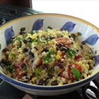 Corn and Quinoa Pasta Salad