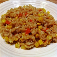Rice and Corn Pilaf