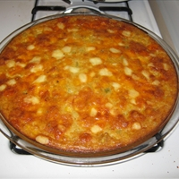 Corn Cheese Chili Pie