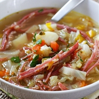 Corned Beef and Cabbage Soup (Skinny Taste)