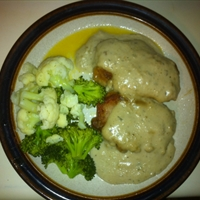 Country Fried Pork Chops with Cream Gravy