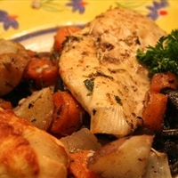 Country Style Chicken and Vegetables