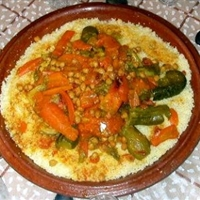 Couscous with 7 Vegetables (Or Moroccan Couscous)