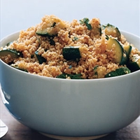 Couscous with Spiced Zucchini
