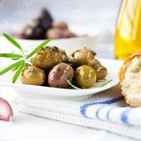 Cracked Marinated Olives