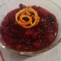 Cranberry and Pomegranate Sauce