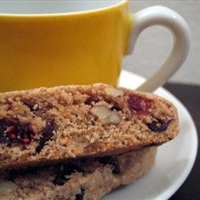 Cranberry Pecan Biscotti