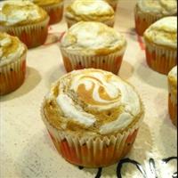 Cream Cheese and Pumpkin Muffins