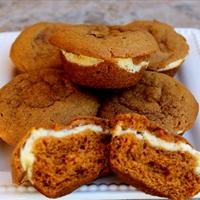 Cream Cheese Carrot Muffins