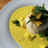 Creamy Almond Curry