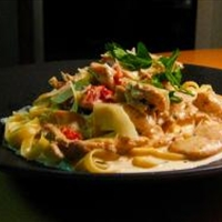 Creamy Cajun Chicken Pasta
