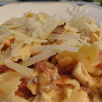 Creamy Chicken, Bacon and Tomato Pasta (12)