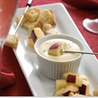 Creme de Brie Fondue for Two